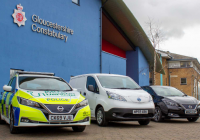 Gloucestershire Police get 75 new Nissan EV's