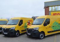 DHL Parcel rolls out electric vans in London